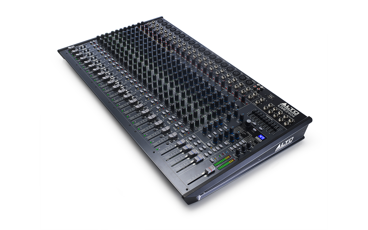 Alto Professional Live Series 2404 Hear Technologies Hookup Diagrams Stereo 16 Channels Of Angle