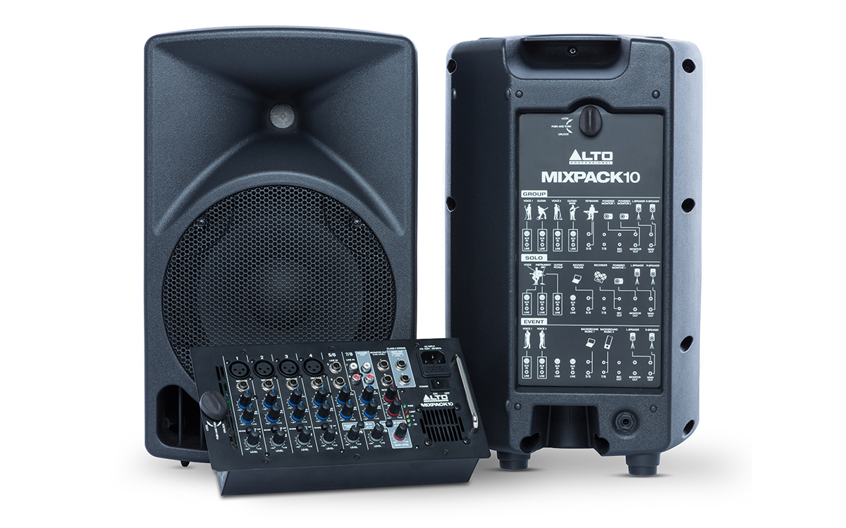 portable all-in-one sound system