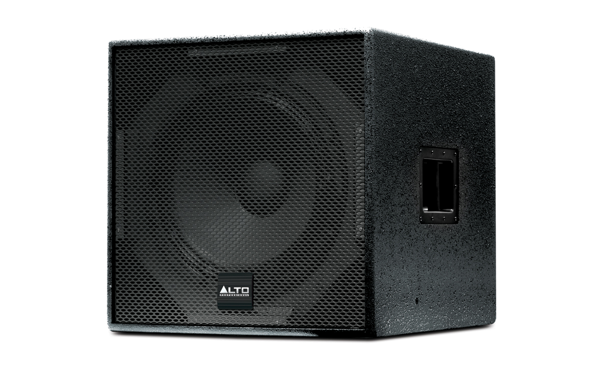 Alto Professional Legacy Speakers Series Sxa18p 12 Inch Subwoofer Angle
