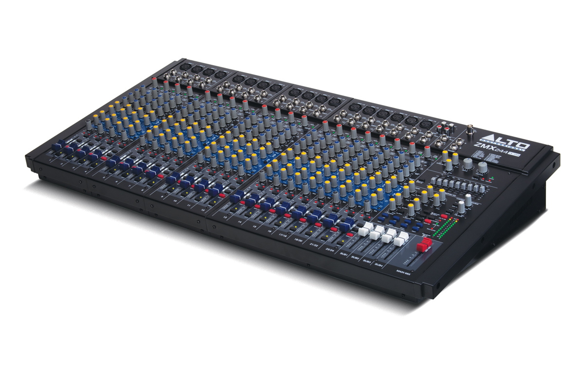 Alto Professional Legacy Mixers Series Zmx244fx Usb Live Pa Wiring Diagrams Angle